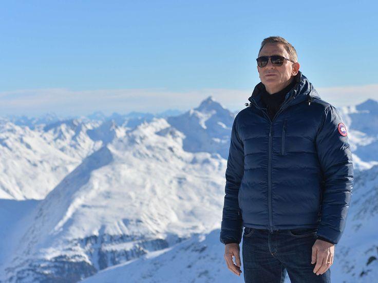 Daniel Craig en Canada Goose