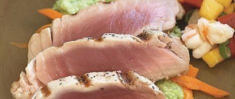 Ahi Tuna for those hot days!