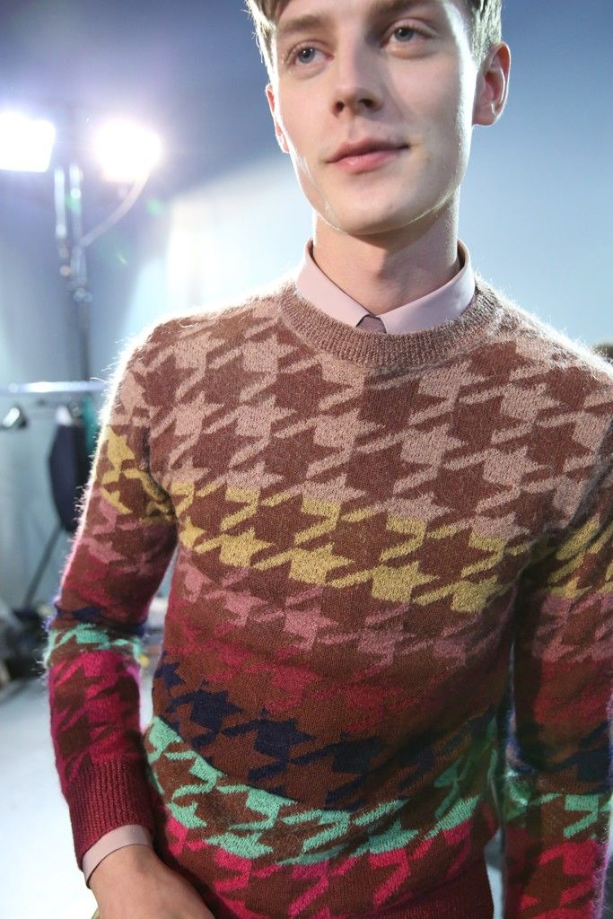 Backstage at Paul Smith Men's Fall 2013 - Slideshow - Runway, Fashion Week, Reviews and Slideshows - WWD.com