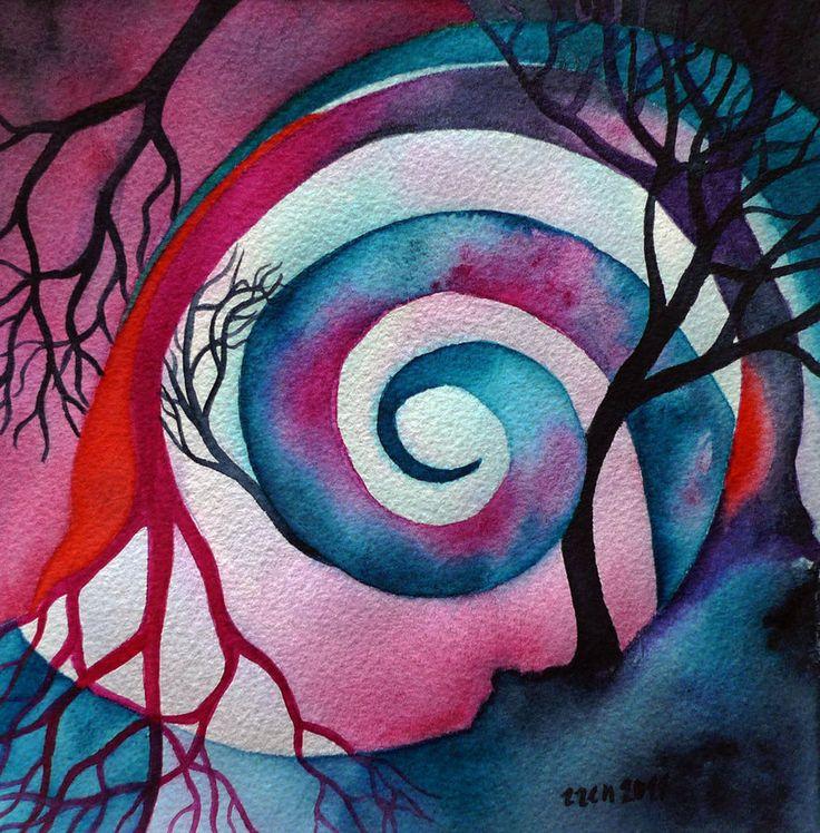 Eucalypts - Second Version by Zuzana M
