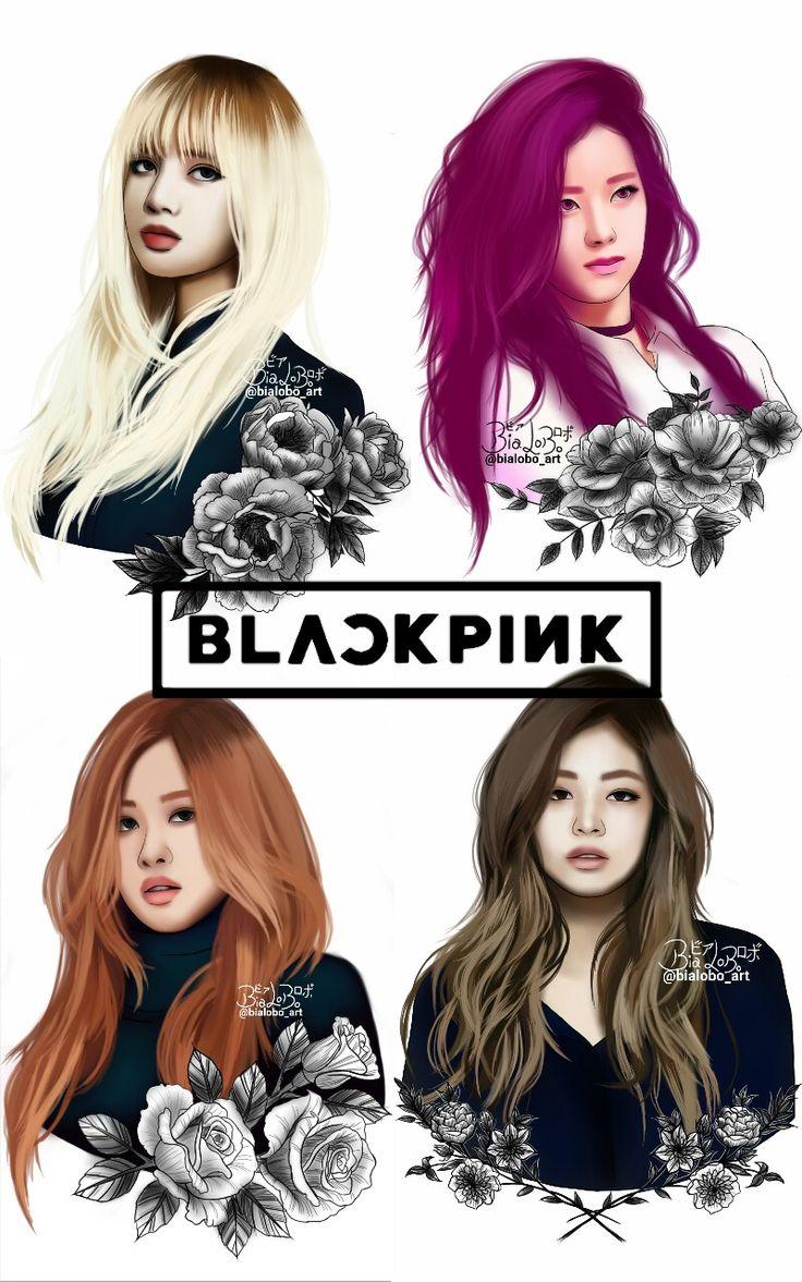 BLACKPINK fanarts byBiaLobo fan art Pinterest