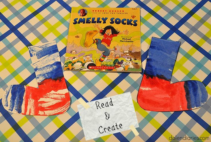 Read & Create with Robert Munsch's Smelly Socks