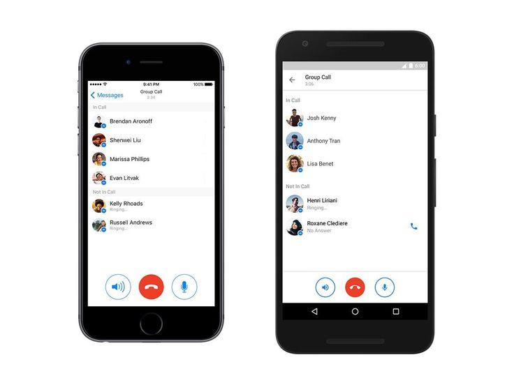 Messenger de Facebook se actualiza y permite llamadas en grupo