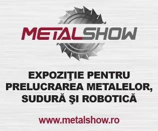 Metal Show, 1- 4 iunie: Prezentari si demonstratii tehnologice ale producatorilor, importatorilor si distribuitorilor din industria prelucrarii metalelor, sudurii si roboticii din tara  si din strainatate.  Intrarea liberă! Centrul Expozitional Romexpo, Bucuresti