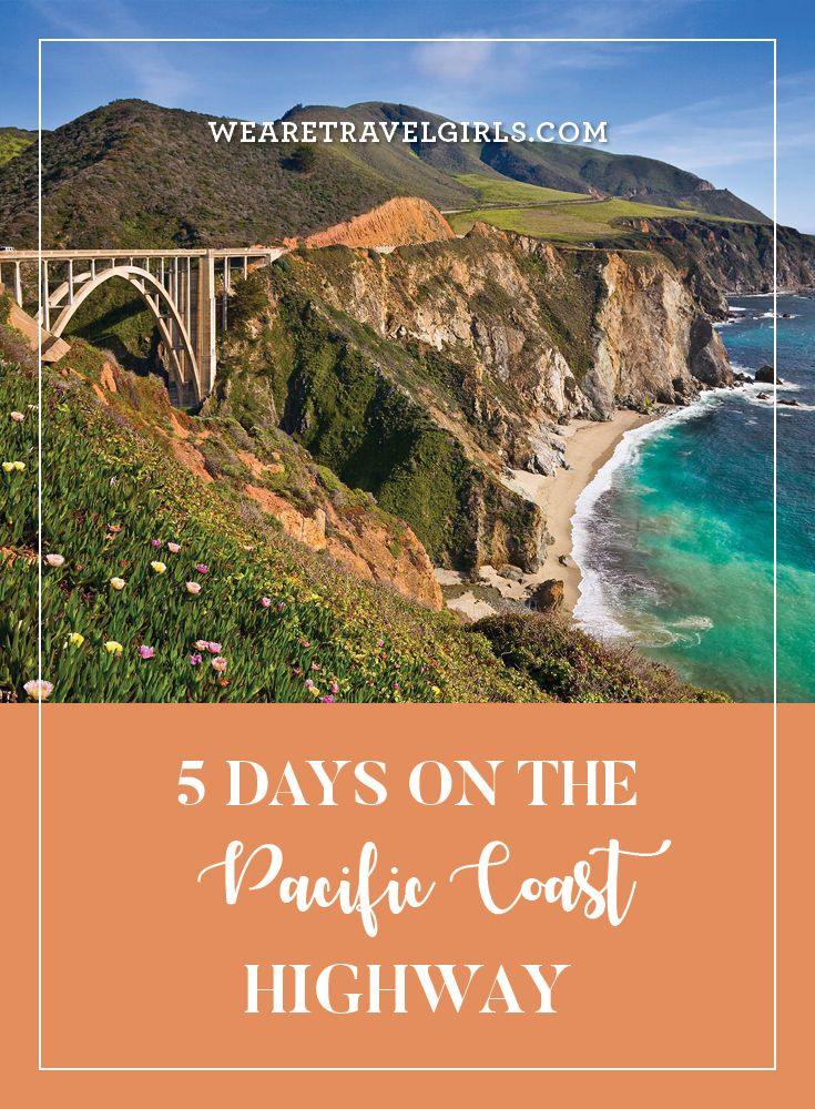 5 DAYS ON THE PACIFIC COAST HIGHWAY Last spring, my boyfriend and I flew out to San Francisco to embark on a road trip down the Pacific Coast Highway. With only a long weekend off of work, we wanted to see as much as possible on the coast within just a short five-day time span. A trip from Napa Valley, in northern California, down to San Diego, in the southern part of the state, is at least a week's worth of exploring, if not two. But if you're short on vacation days or money, this itinerary…