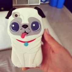 Cute 3D Puppy Silica Gel Soft Case for iPhone 4/4S/5/5S, iPod Touch 4, 4th Generation