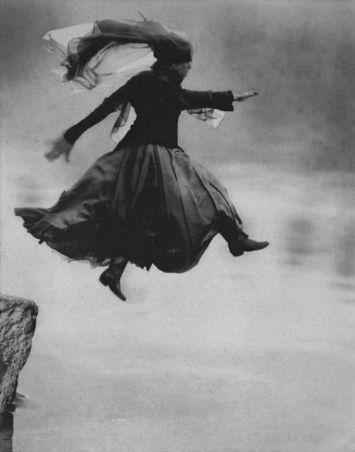 Veiled Woman (Leap of Faith) by Barbara Parmet