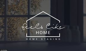 Projekt logo Home Staging - FeelsLikeHome.pl                                                                                                                                                     More
