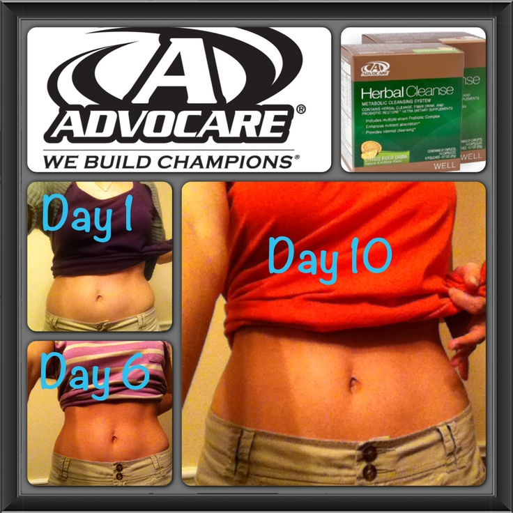 Advocare 10 Day Cleanse Average Weight Loss - diettoday