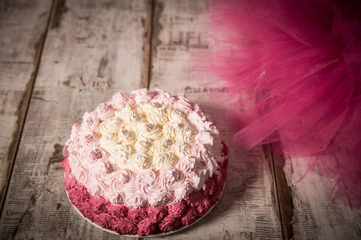 #cake #pink #sweet #monicapallonifotografa