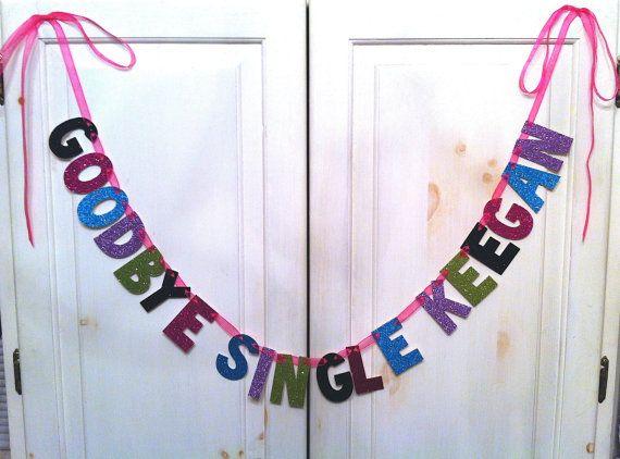 Custom Bachelorette Banner / Bachelorette Party Decoration by Hawthorne Ave