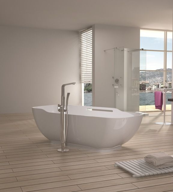 matte white free standing solid surface stone resin bathtub bathtubs by adm
