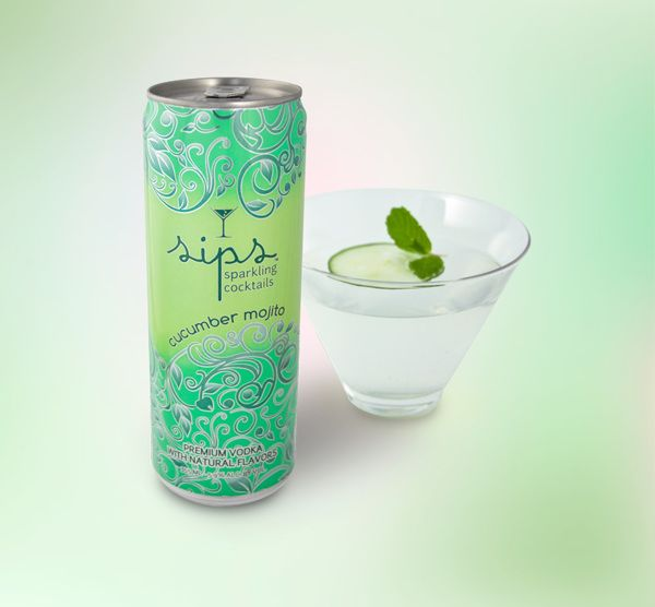 Sips 355 slim cans by Chava Oropesa, via Behance http://www.behance.net/gallery/Sips-355-slim-cans/6758241
