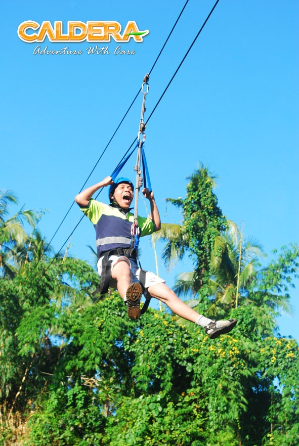 Caldera River Resort - Flying Fox - Citarik , Sukabumi, Indonesia