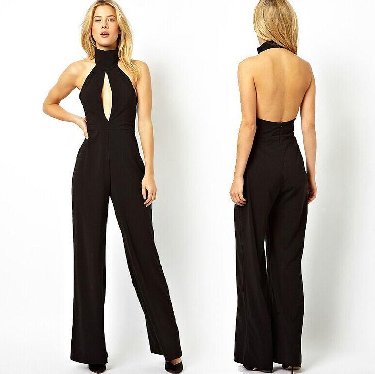 2015 summer turtleneck chiffon women jumpsuits overalls. Black Bedroom Furniture Sets. Home Design Ideas