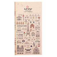 Suatelier Midnight Paris French Stickers