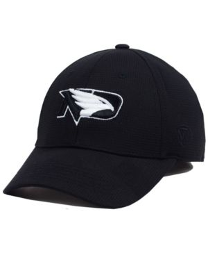 Top of the World North Dakota Fighting Hawks Completion Stretch Cap - Black M/L