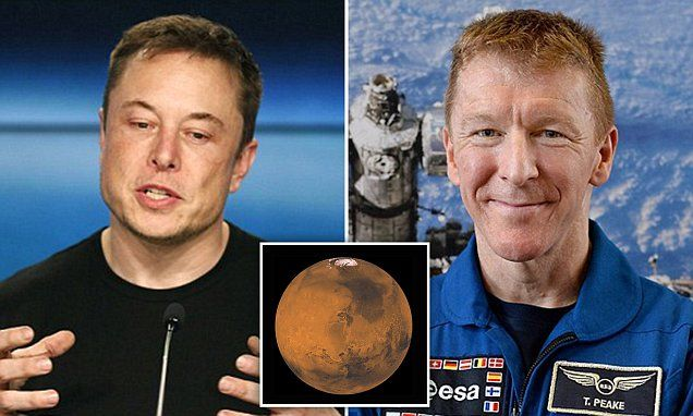 Elon Musk could help us get to Mars early, says astronaut Tim Peake