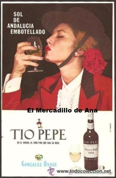 114 best images about tio pepe posters and adverts on for Cartel tio pepe