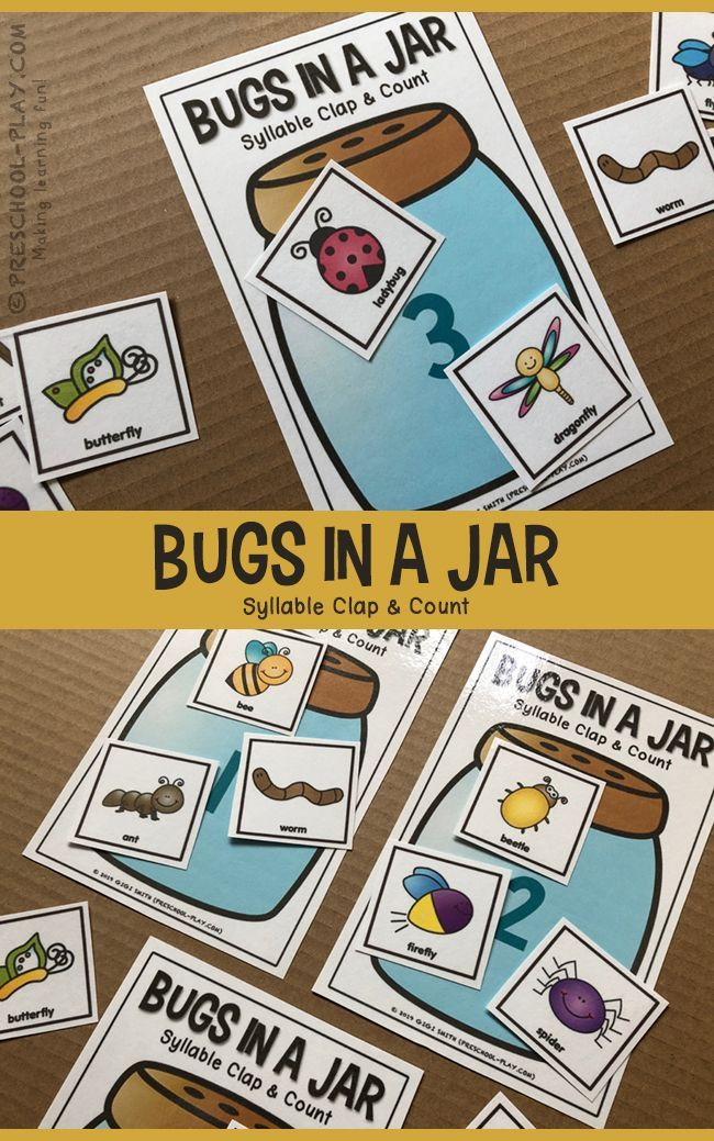 Printable Bugs/Insects Math and Literacy Activities   Elementary