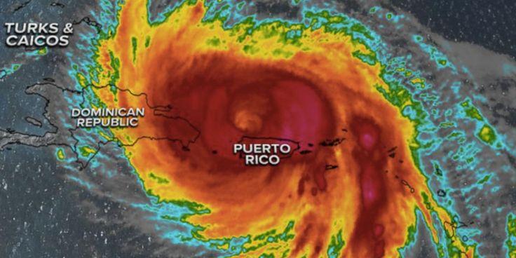 «C'est la tempête la plus dévastatrice du siècle ou de l'histoire moderne. Qui sait ce que seront les dégâts.»