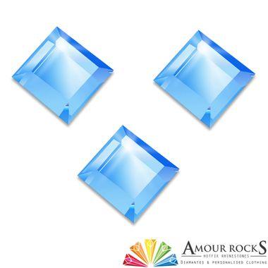 Princess Light Sapphire Hotfix Rhinestone Shapes