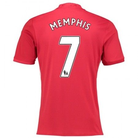 Manchester United 16-17 #Memphis Depay 7 Hemmatröja Kortärmad,259,28KR,shirtshopservice@gmail.com