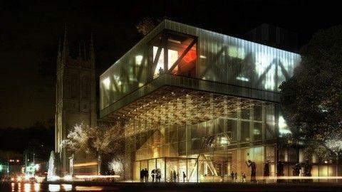 Музей изящных искусств в Канаде.