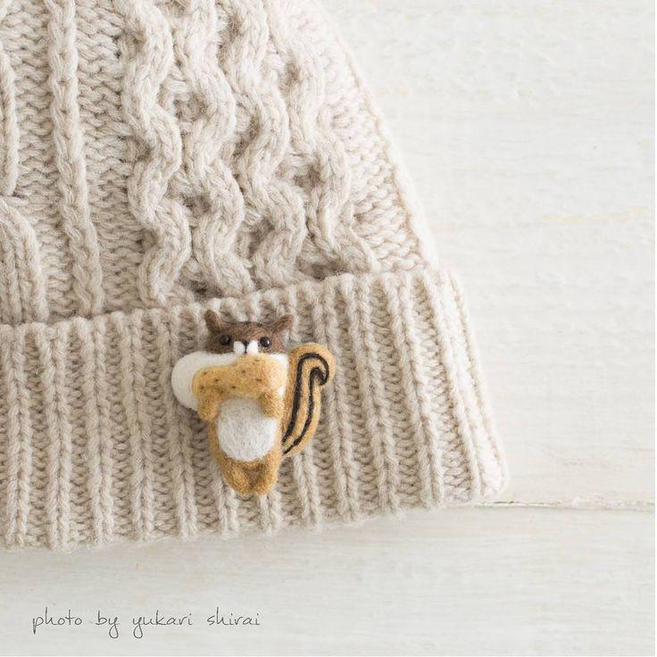 2,145 個讚,30 則留言 - Instagram 上的 羊毛フェルト yucoco cafe(@yucococafe):「 日本ヴォーグ社のテナライ『yucococafeの羊毛フェルトレッスン』ですが、今回の私の針仕事展限定で、初回のシマリスブローチキットのみの販売があるそうです。 .… 」