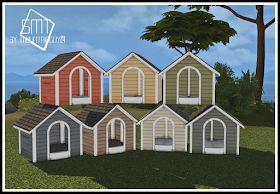 Sims 4 CC's – The Best: MG24 HAGGYS FUNCTIONAL DOG HOUSE RETEXTURE 2T4 by Sims Modern Technology