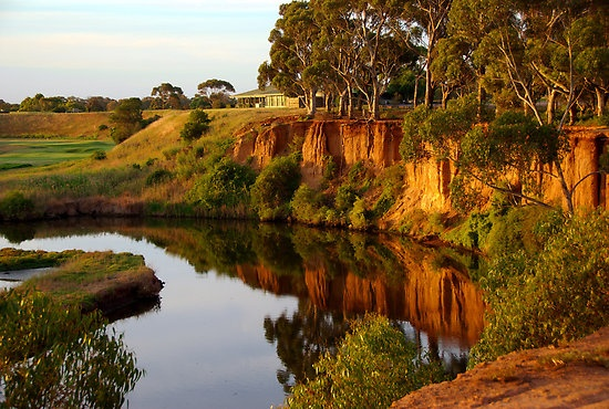 Werribee River, lovely colours in this photo