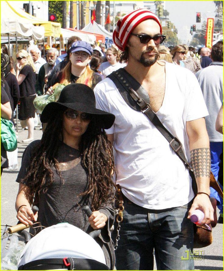 Lisa Bonet And Jason Momoa At The Mad Max Premiere: Jason Momoa & Lisa Bonet: Farmers Market Fresh