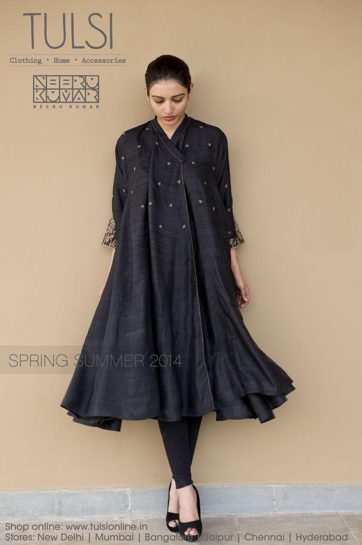 #silk #choga #wrap #springsummer #tulsionline #womensfashion #womenswear #ethnic