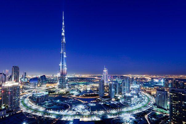 Бурдж Дубай (Халифа). Самое высокое здание мира