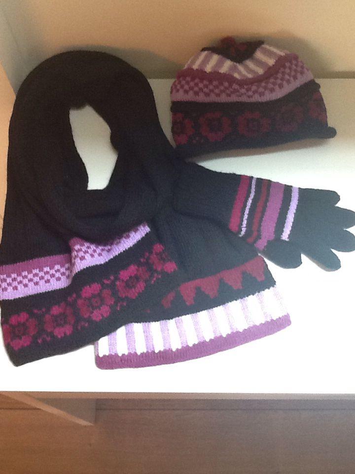 Mütz, Handschuhe, Schal