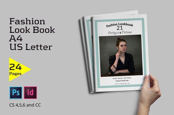 Fashion Lookbook ~ Brochure Templates on Creative Market