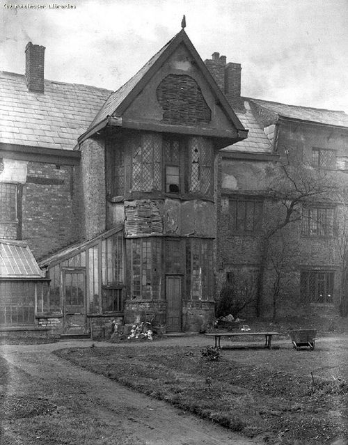 Ordsall Hall, Salford,c.1900 by archivesplus on Flickr.  Ordsall Hall, Salford, c.1900 . Photograph taken by James Shaw for the Manchester Amateur Photographic Society survey of 1892-1901