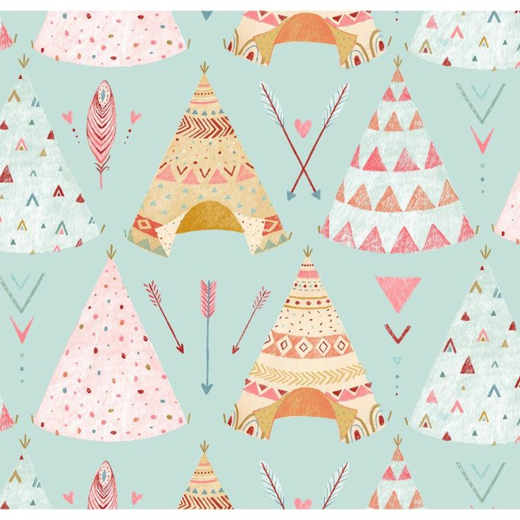 Modern Fabric-Teepee Cotton Fabric-Modern Quilting Fabric-Teepees-Arrows-Feathers-Blue-Brown-Pink by NowFabrics on Etsy https://www.etsy.com/listing/272407666/modern-fabric-teepee-cotton-fabric