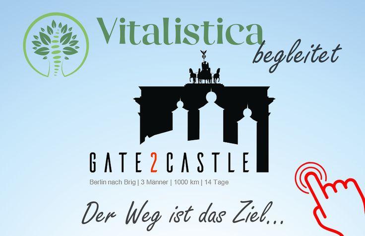 https://www.vitalistica.ch/news  Wir begleiten das Team von Gate2Castle auf ihrem langen Weg von Berlin nach Brig und unterstützen sie mit Chiropraktik!  Ganz im Sinne unserer Praxisphilosophie und unseres Auftrages, das Selbstvertrauen in unseren Körper zu stärken, freut es uns sehr, dieses Projekt unterstützen zu können, bei dem es auch darum geht zu zeigen, zu was wir eigentlich fähig sind.  https://www.vitalistica.ch/news