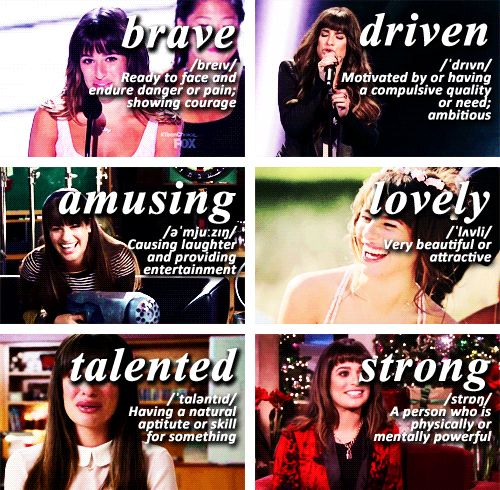Lea Michele is my fave singer ever love her so strong n independent n in my school im Rachel Berry