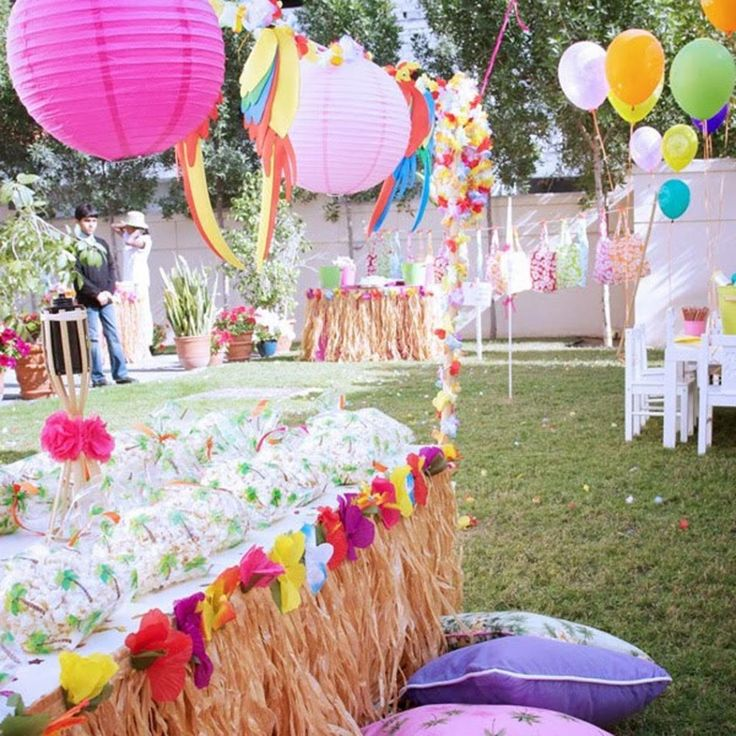 39 best Luau Beach Party images on Pinterest Beach party Paper