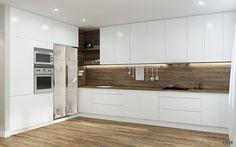 Дизайн интерьера двухкомнатной квартиры на пр.Металлистов #дизайн #интерьер #дизайнер #lesh #кухня