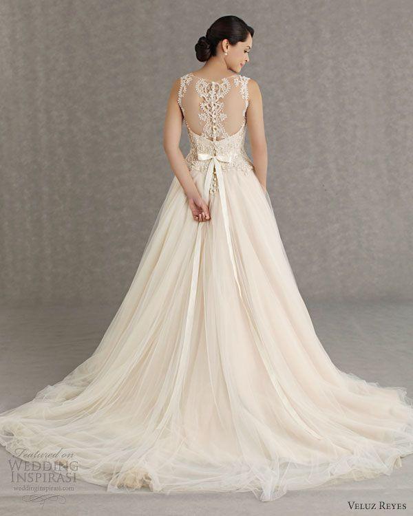 veluz reyes wedding dresses 2013 bridal rtw sophia gown illusion