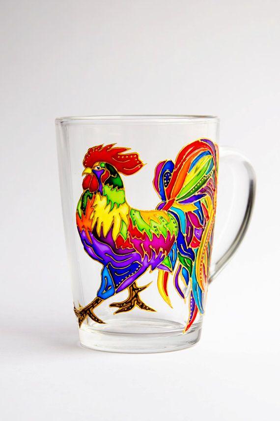 17 Best images about Peinture sur verre et porcelaine on Pinterest