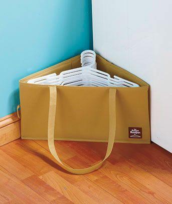 great thing for a closet!  As you take something out and wear it, put the hanger in the bag.  Then your closet won't be full of empty hangers.