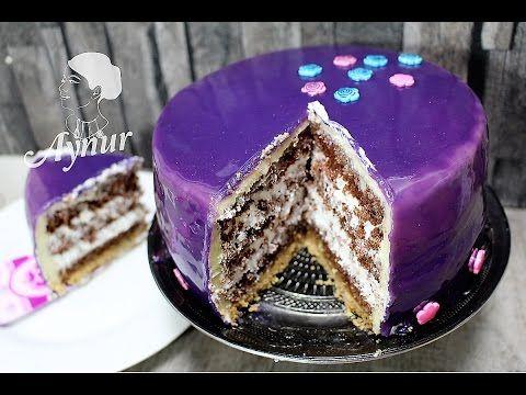 Parlak jöleli vanilyali Yaş  Pasta Yapılışı# Gerçek pastane usulü Yaş Pa...