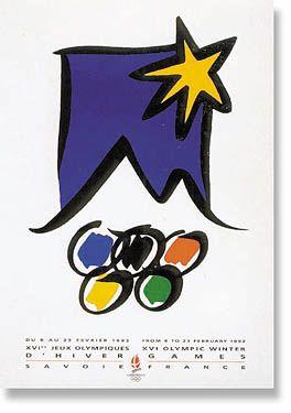 kiat.net: Winter Olympic Games Albertville 1992 #graphicdesign #illustration