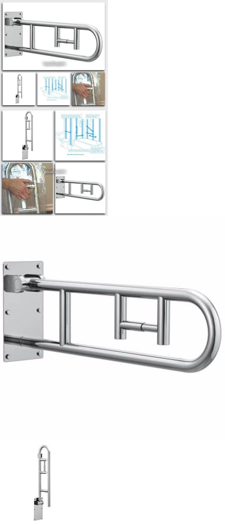 Combination Toilet Paper Holder And Grab Bar For Small Bathroom: 25+ Best Bathroom Grab Rails Ideas On Pinterest