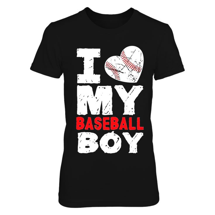 I love my baseball boy Bpmjb3 T-Shirt, perfect clothing for fans. Makes a fun gift for your girlfriends  AVAILABLE PRODUCTS District Women's Premium T-Shirt - $27.95   District Women District Men Gildan Unisex T-Shirt Gildan Women Gildan Unisex Pullover Hoodie Next Level Women Gildan Long-Sleeve T-Shirt Gildan Fleece Crew Gildan Youth T-Shirt Pack of 4 stickers View sizing / material info This is a fitted female style. For a true fit order size up.