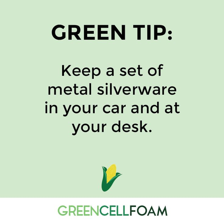 Tips and tricks for a greener lifestyle